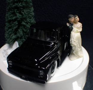 ford truck wedding cake topper wedding cake topper w ford show mussel car 14404