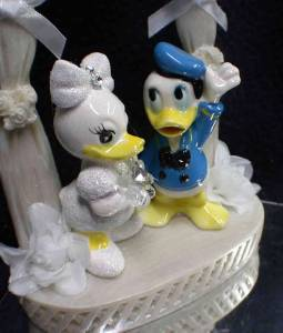 duck wedding cake toppers uk disney donald groom amp dasiy duck wedding cake topper top 13779