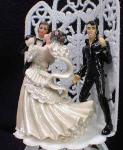elvis wedding cake topper elvis king las vegas wedding cake topper top black 14010