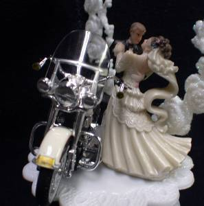 motorcycle wedding cake toppers uk wedding cake topper w diecast heritage softail harley 17616