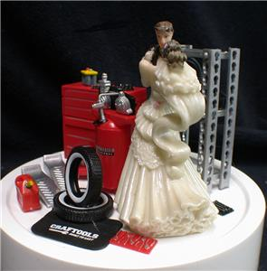 racing wedding cake toppers car auto mechanic wedding cake topper groom top 18956