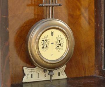 Antique Vienna Regulator Wall Clock D R G M Drgm Ebay