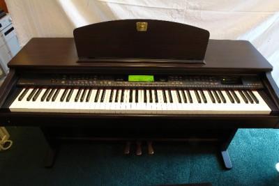 yamaha clavinova cvp 201 electric piano 88 key keyboard cvp201 ebay. Black Bedroom Furniture Sets. Home Design Ideas