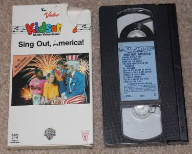 "KidSongs VHS ""Sing Out, America"" View-Master Video Free ..."