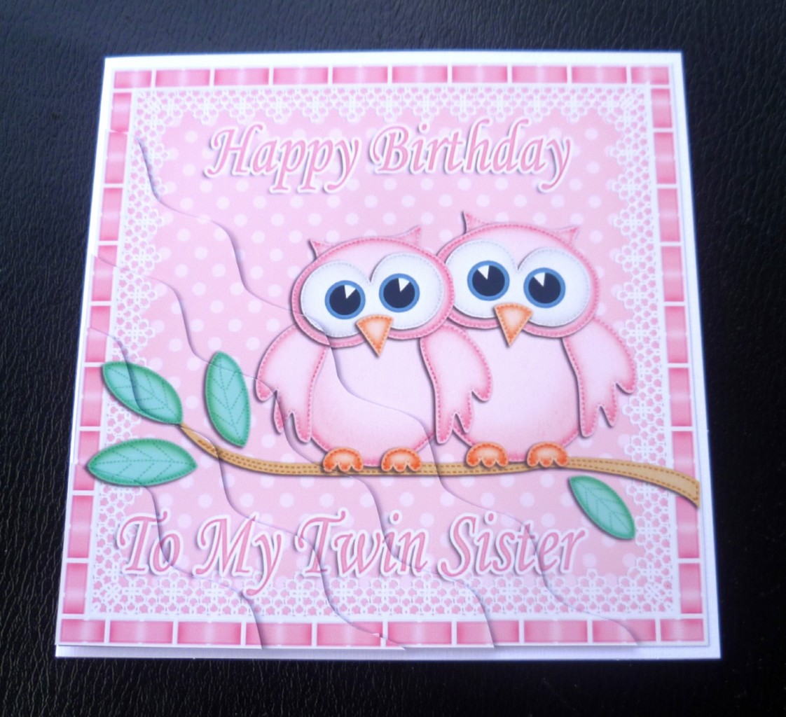 Happy Birthday Card For My Twin Sister Poems To
