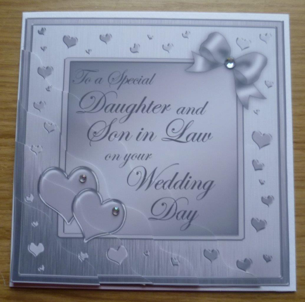 Love Quotes About Life: Special Daughter & Son In Law On Your Wedding Day Card