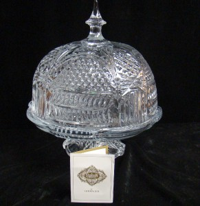 Shannon Crystal Cake Stand And Dome