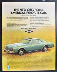 vintage sales brochure 1978 chevrolet caprice classic impala ebay rh ebay com 1978 Chevy Old Checks 1978 Caprice Parts