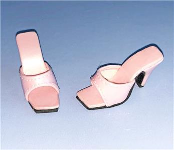 "Shoes Sandals for 16/"" Tyler Gene Dolls Slip-on Kingstate Red New in Box"