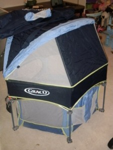Graco Pack N Play Sport Portable Folding Covered Playpen