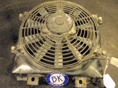 01 Bombardier Traxter 4x4 500 CVT Fan Radiator Blower