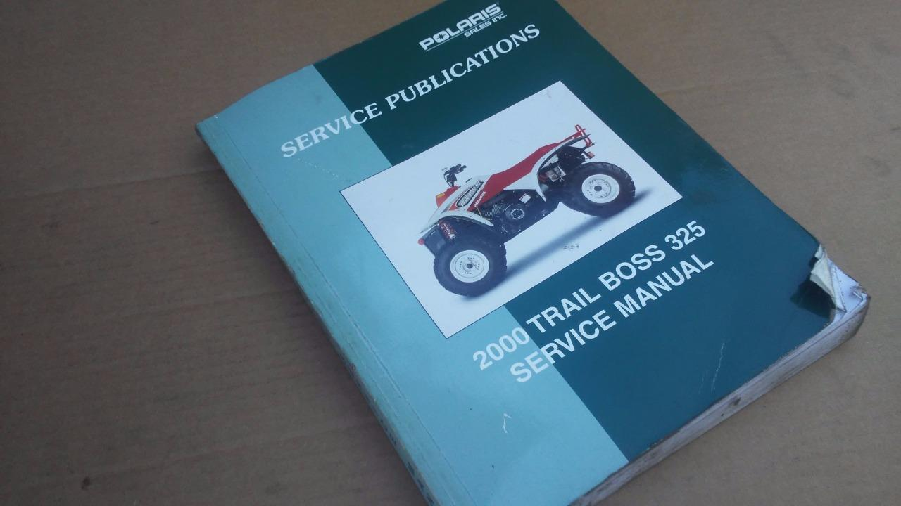 2000 Polaris Trail Boss 325 Service Manual OEM Used Repair Book Stock DIY
