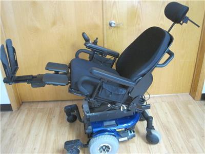 Enjoyable Details About Quantum 610 Wheelchair Power Tilt Recline Legs Electric Scooter Mobility Chair Short Links Chair Design For Home Short Linksinfo