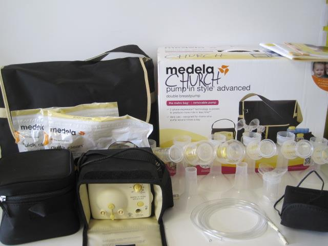 Image Is Loading Medela Pump In Style Advanced Double Electric T