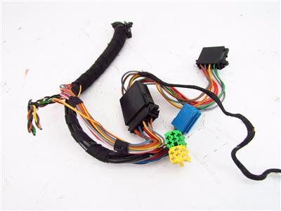 RADIO WIRING HARNESS PIGTAILS SINGLE DIN VW JETTA GTI GOLF ...