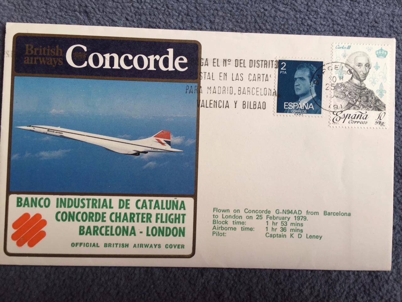 British-Airways-Concorde-First-Flight-Barcelona-London-25th-February-1979