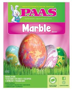 PAAS AMERICA\'S FAVORITE EASTER DECORATING KIT MARBLE COLORING KIT ...