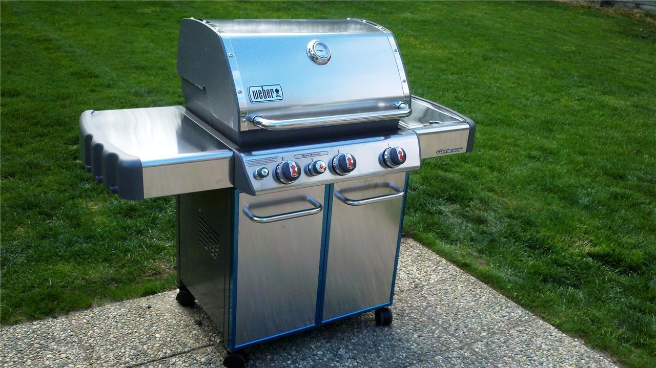 2013 New Weber Genesis E-330 e330 Propane Lp Grill BLACK # 6531001 | eBay
