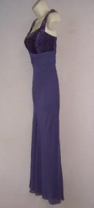 PATRA 2 Piece Light Purple Chiffon Beaded Formal Gown Dress & Jacket