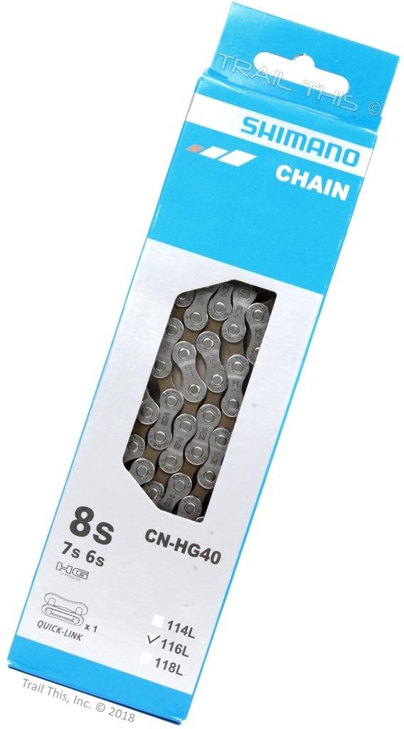 Shimano-Chain cn-hg40 6//7//8 Speed 116 links
