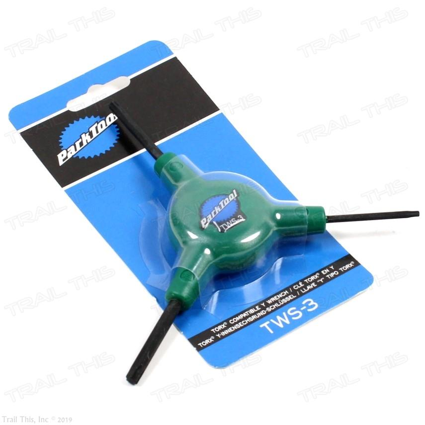 PARK TOOL TWS-3 TORX Y-TORX COMPATIBLE WRENCH BIKE BICYCLE TOOL