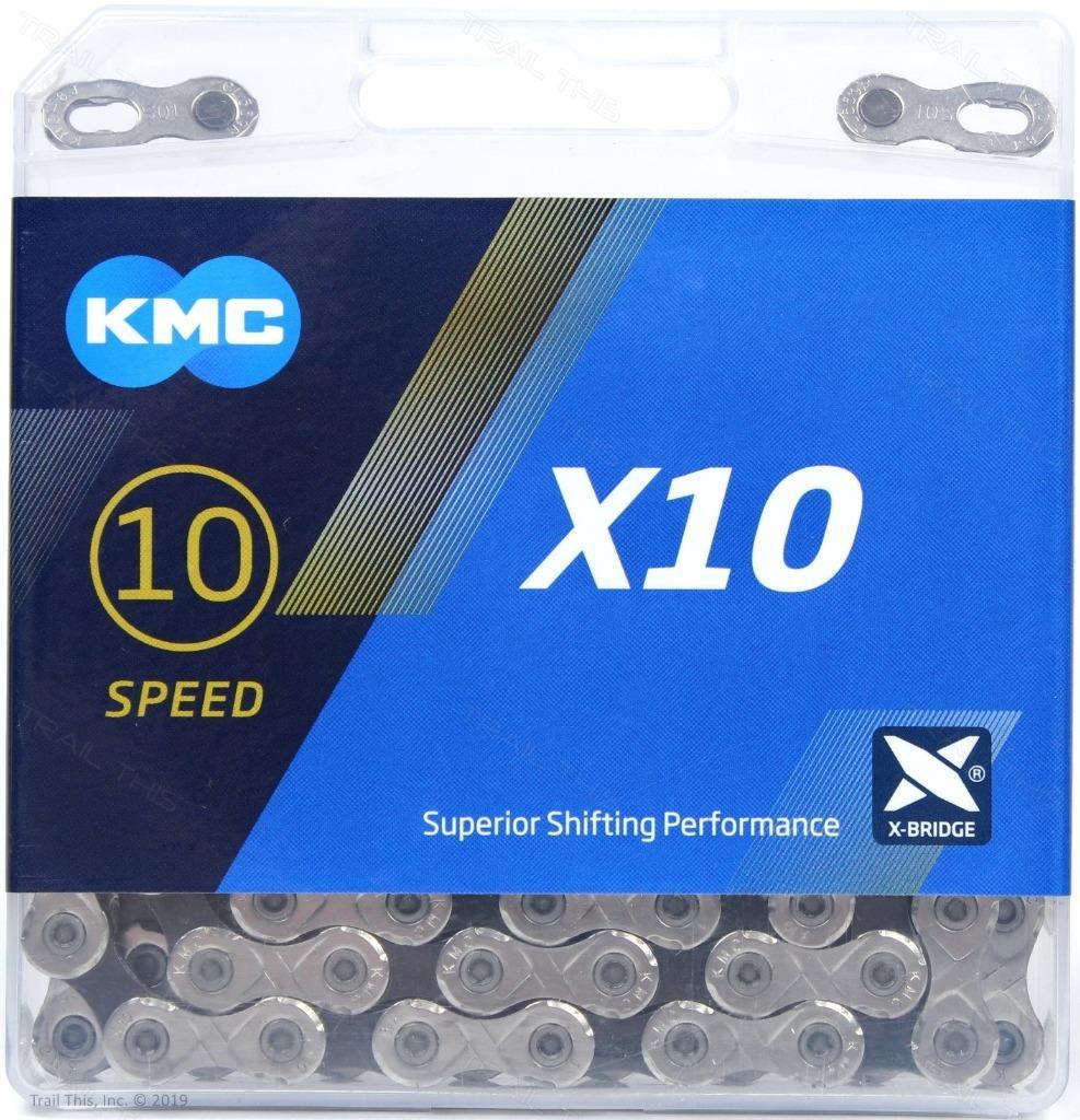 2-Pack KMC X9.93 9-Speed 116-Link XSP Bike Chains fits Shimano SRAM Campy FSA