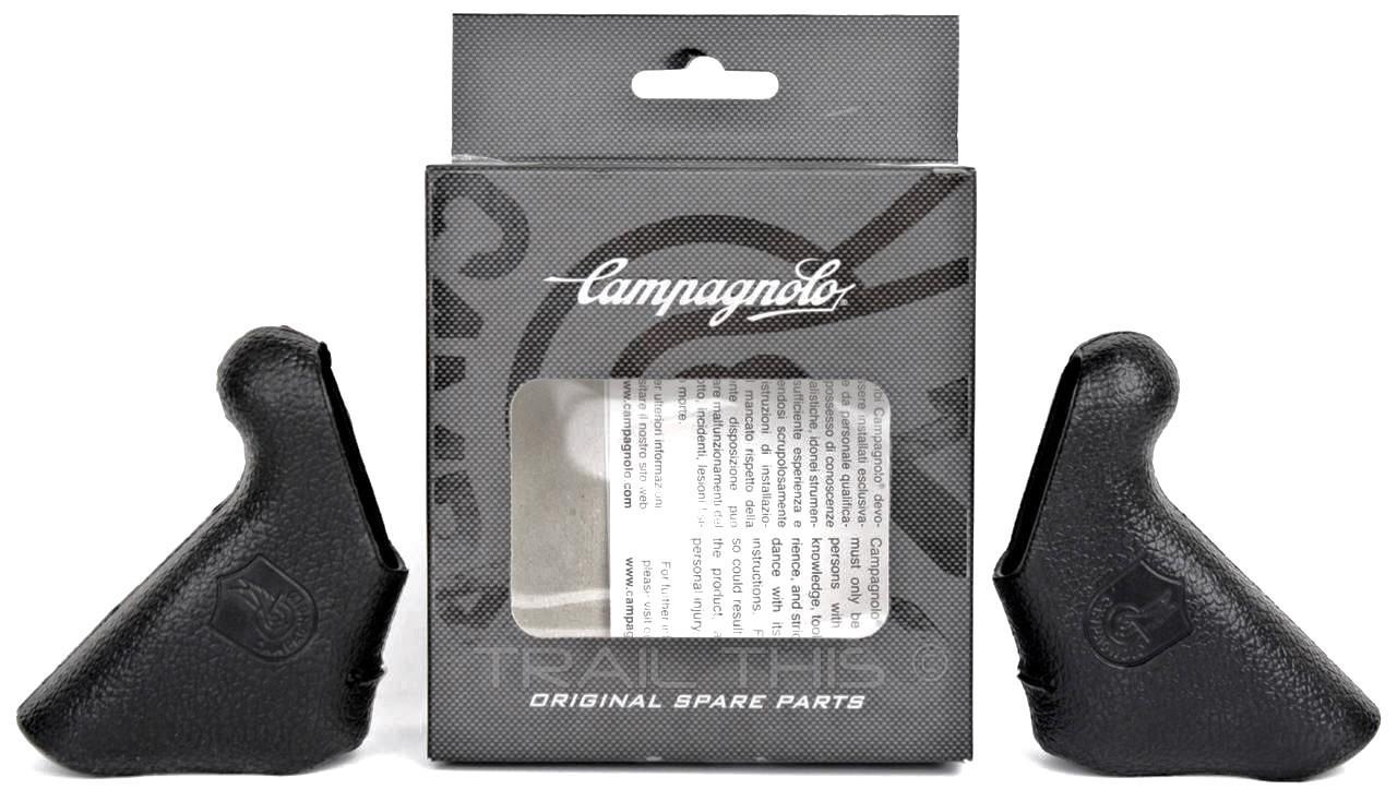 Genuine Campagnolo Record EC-RE600 10-Speed Ergopower Shifter Brake Hoods Campy