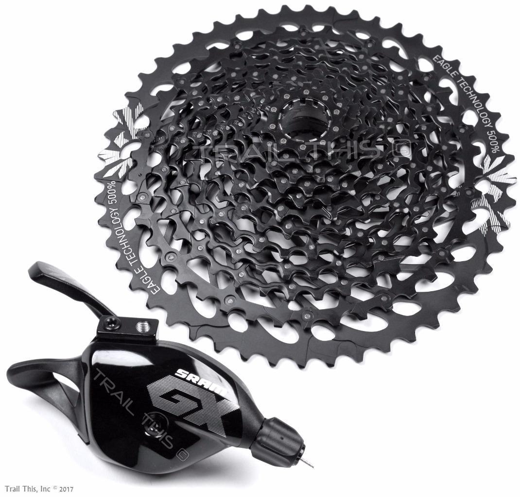 SRAM GX Eagle 12-Speed Cassette /& Trigger Shifter Combo Set MTB Bike X-Actuation