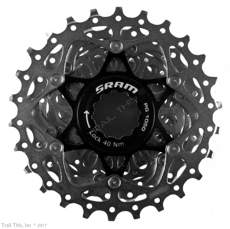 CX SRAM PG-1050 12-25T 10-Speed Road MTB Bicycle Cassette 12-25 fits Shimano