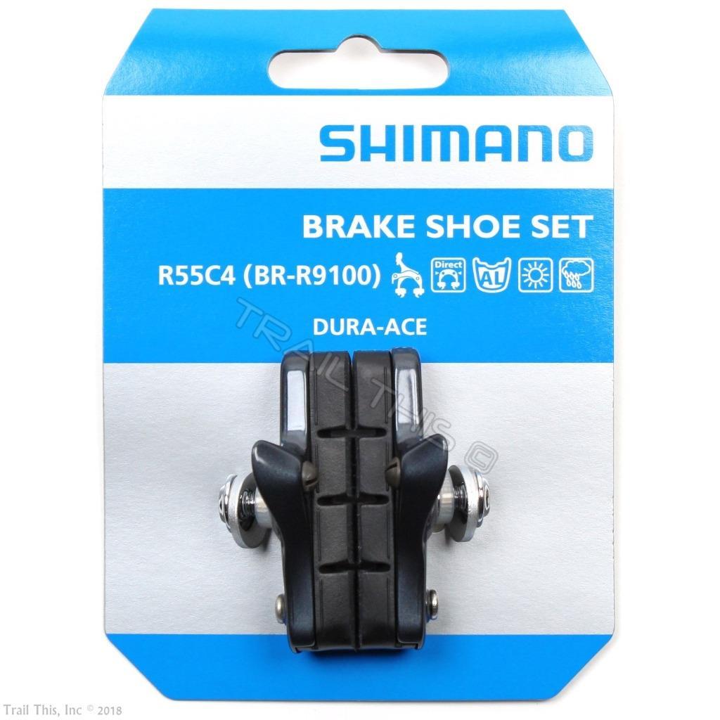 SHIMANO ULTEGRA 6800 BRAKE BICYCLE BLACK BRAKE PADS W// HOLDERS