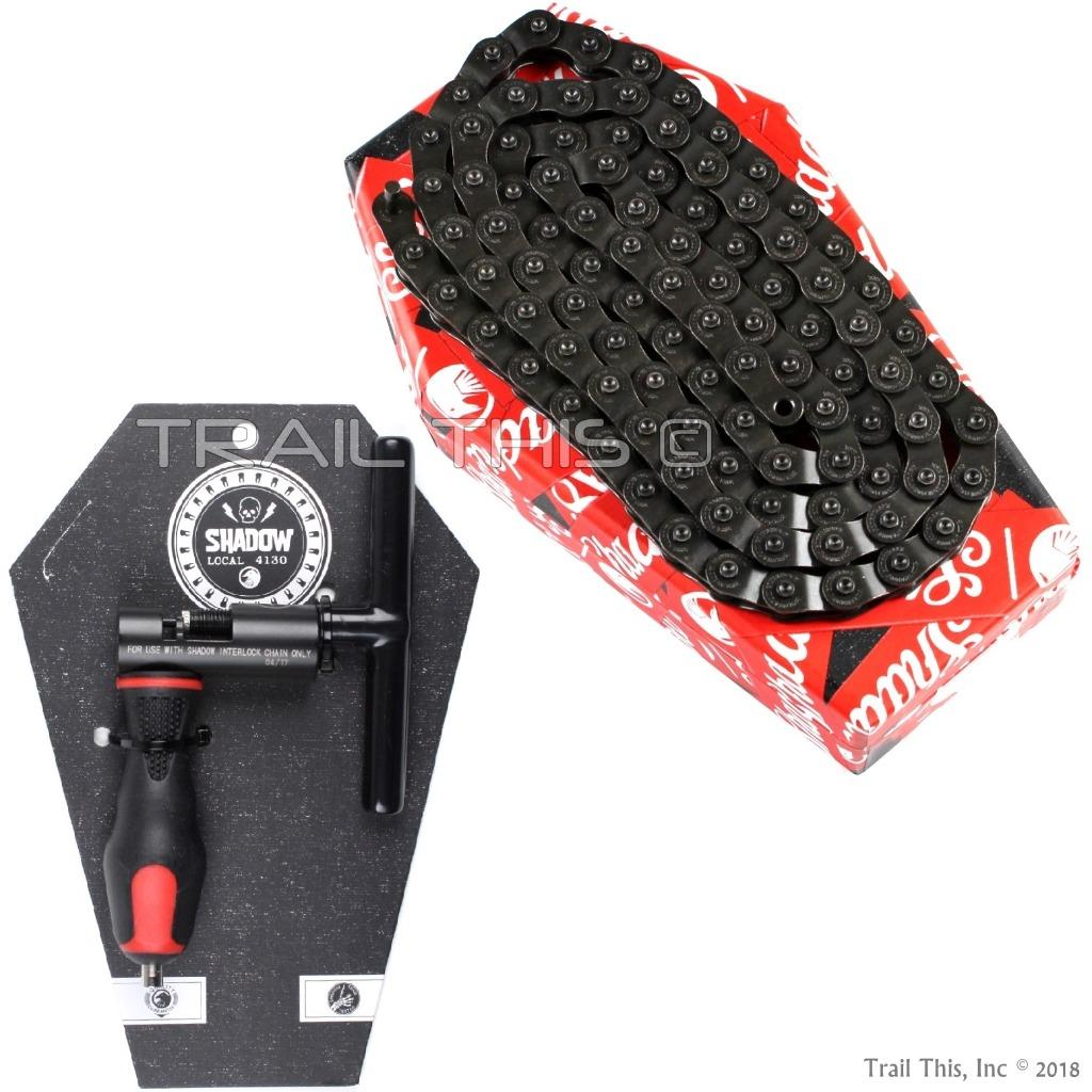 "The Shadow Conspiracy Interlock V2 BMX Chain Master Pin 1//8/"""
