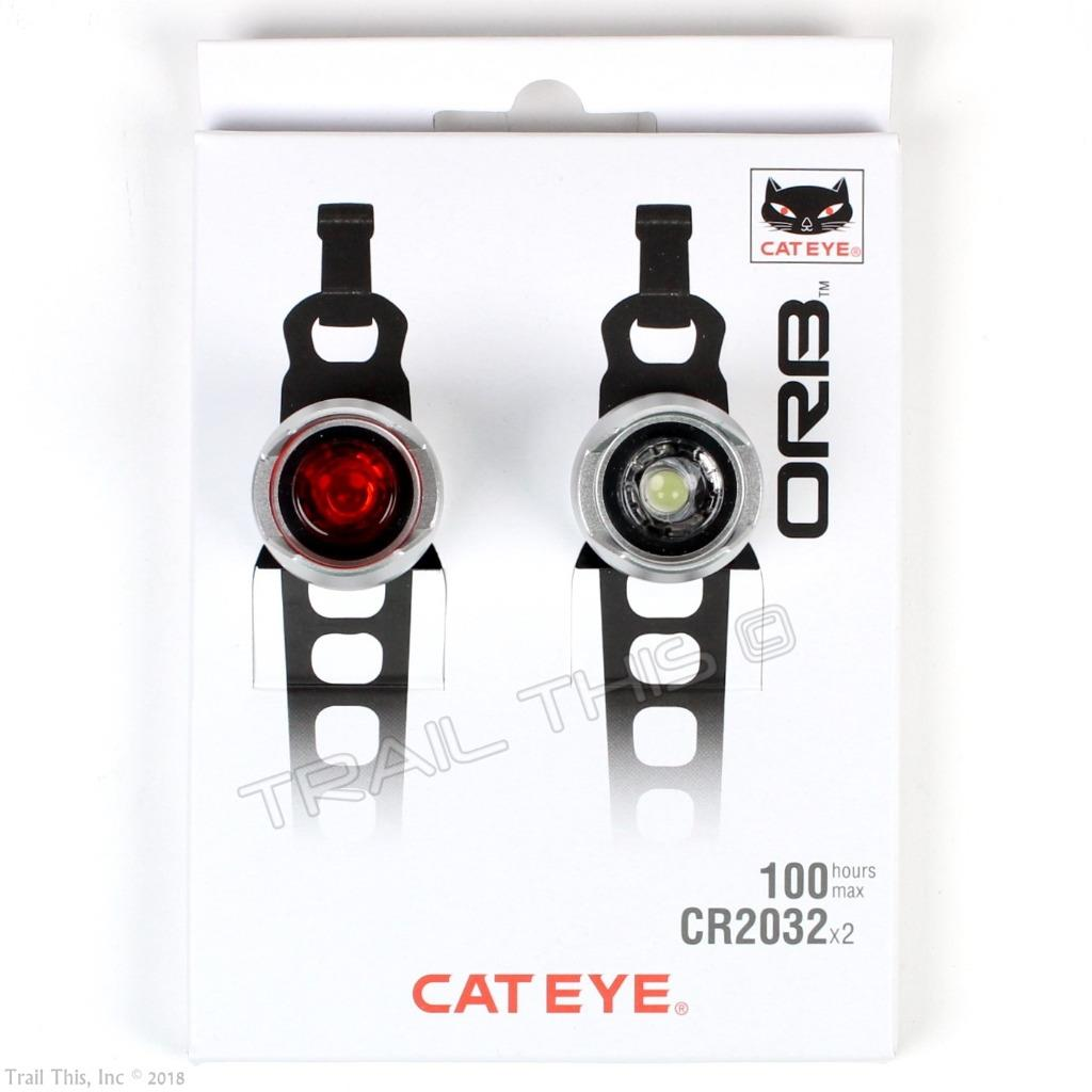 CatEye Orb Front Rear Light Set