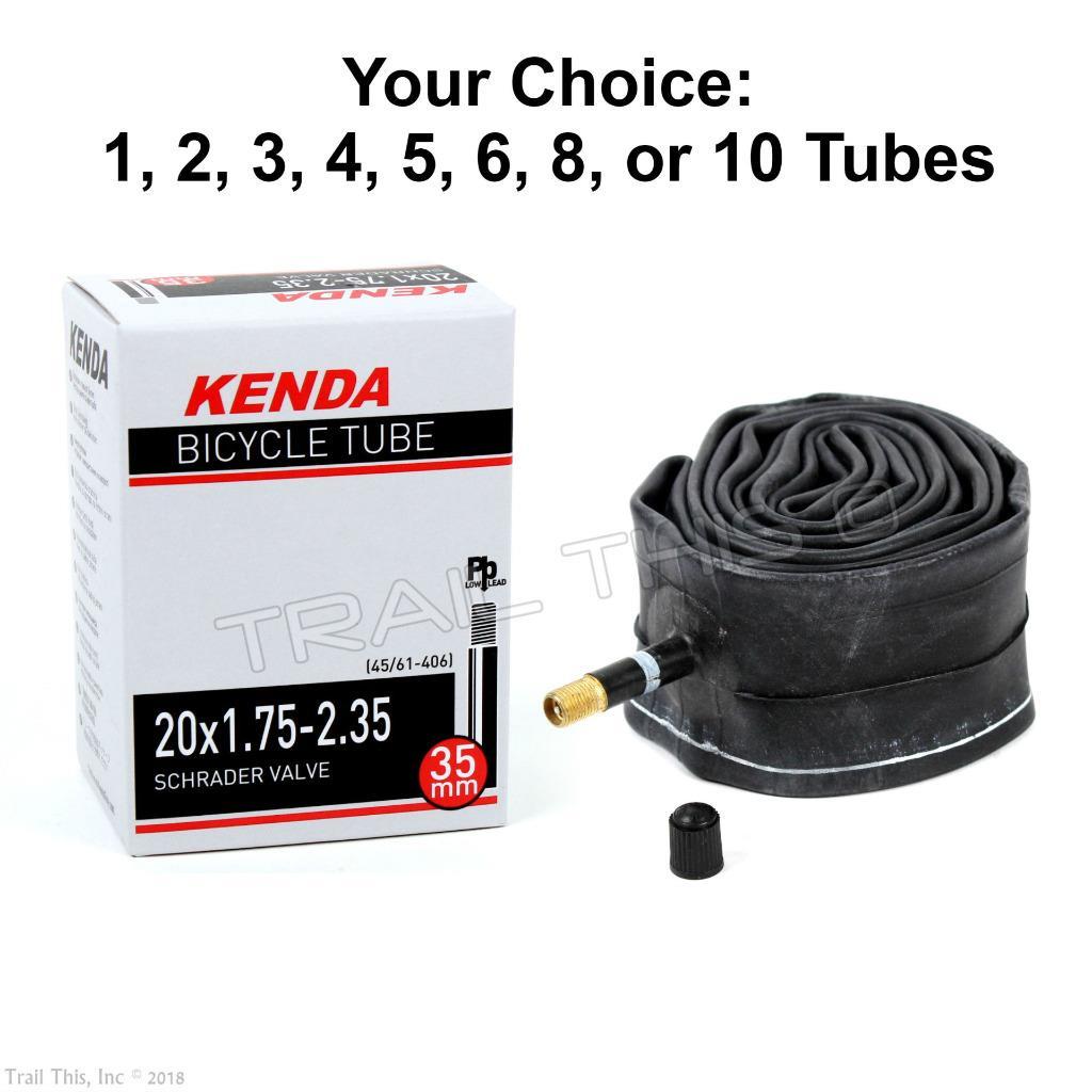 "40 Qty 20/"" Bicycle Bike Cycle tube 20/"" x 1.75-1.95 Inner Tubes New Lot"