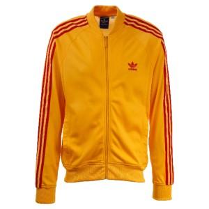 9e095208fa5d Adidas Original Superstar Mens Medium M Sport Track Top Jacket Yellow