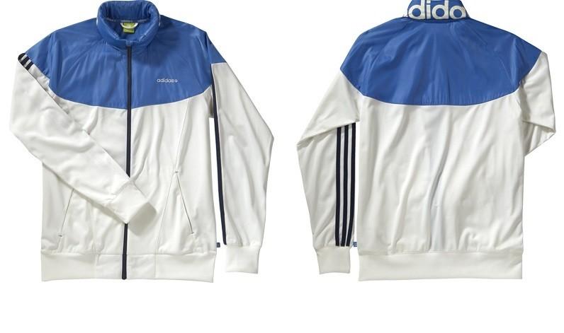 Blue Top Men L Label Block Neo Color Jacket Track Windbreaker Adidas Large WhiteEbay 0wk8OPXNnZ