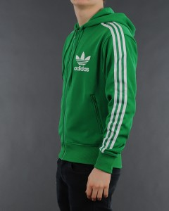 7133baab765769 Adidas Originals Mens Small S Hooded Flock Track Top Jacket Kelly on ...