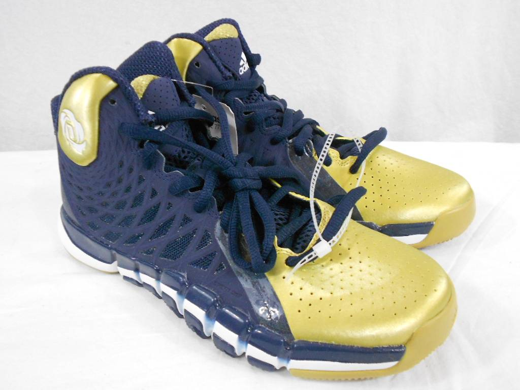 Notre Dame Gold Basketball Shoes