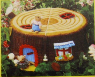 Jean Greenhowe Dormouse House Mice Toy Furniture Sewing