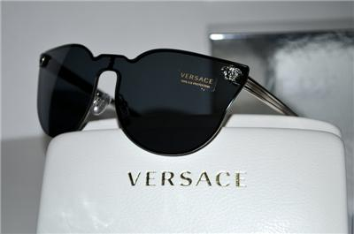 97ac113b2cb New Unique Rimless Authentic Versace Sunglasses VE2120 100087 VE ...