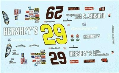 Winscals #29 Prohibition Ends At Last 2012-Kevin Harvick Nascar decal
