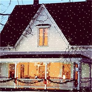 Winter Lane Light Flurries Outdoor Led Light Projector Ebay