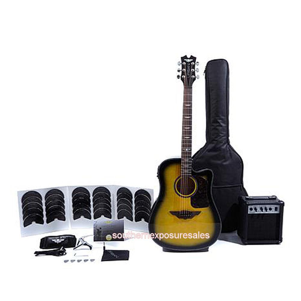 Keith Urban Acoustic Electric Ripcord 44 Piece Guitar Package