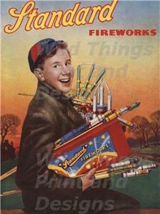VINTAGE STYLE RETRO METAL PLAQUE ;Wise Guys Buy ASTRA Fireworks Ad//Sign
