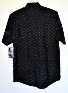New Mens Quiksilver Cotton Shirt Black XL XLarge