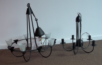 ikea 39 lerdal 39 39 moinig 39 chandeliers in excellent condition ebay. Black Bedroom Furniture Sets. Home Design Ideas