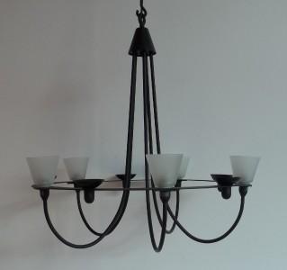 ikea 39 lerdal 39 chandelier in excellent condition ebay. Black Bedroom Furniture Sets. Home Design Ideas
