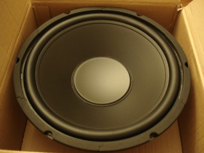 speakers 12 inch woofers. this listing is for (1) new 12 inch woofer. it measures inches from end to end. diagonal hole center 11 5 /8\u0027s woofer rated at 120 speakers woofers i