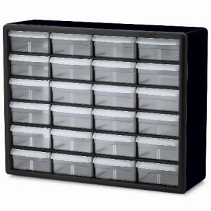 New Wall Mount Storage Compartment Drawers Store Parts