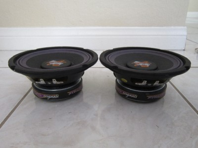 """8/"""" Woofer Speakers.Guitar.Pro Audio Replacment Pair.8ohm.PA.eight inch NEW 2"""