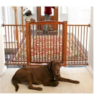New Brown Major Wide Dog Fence Indoor Pet Barrier Home